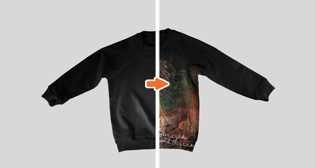 Kids Sweatshirt (Flat Front)