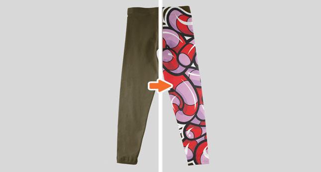 Leggings (Flat Back)