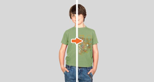 Kids Tee Modelshot (Boy)