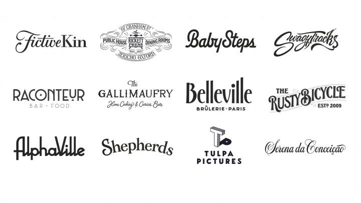 Logos | Courtesy of Ged Palmer