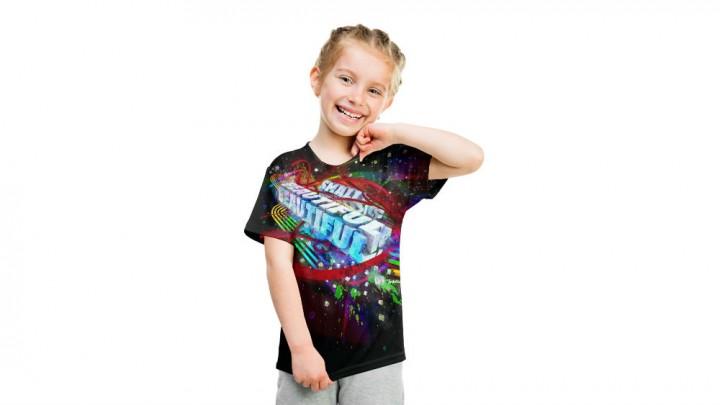Kids T-Shirt, Modelshot (Girl)_MU