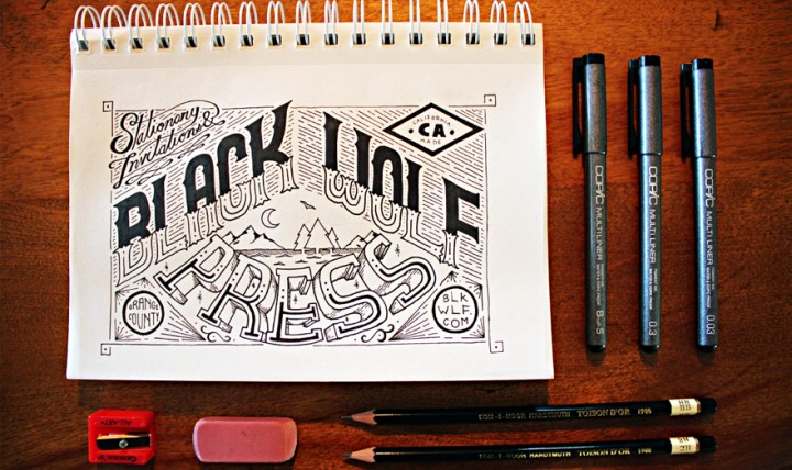 Black Wolf Press Piece | Courtesy of Jason Carne