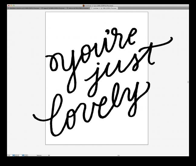 hand lettering tutorial 11