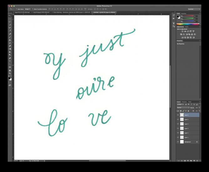 hand lettering tutorial 2