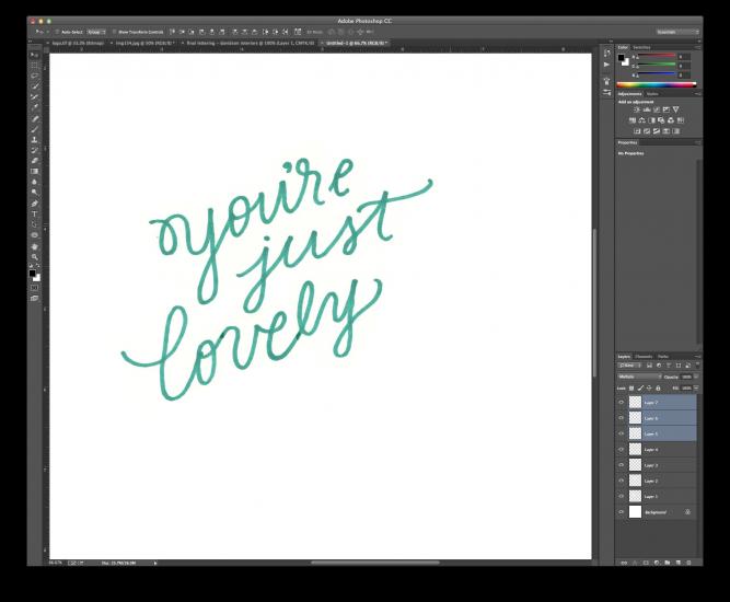 hand lettering tutorial 3