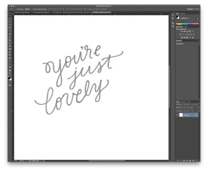 hand lettering tutorial 4