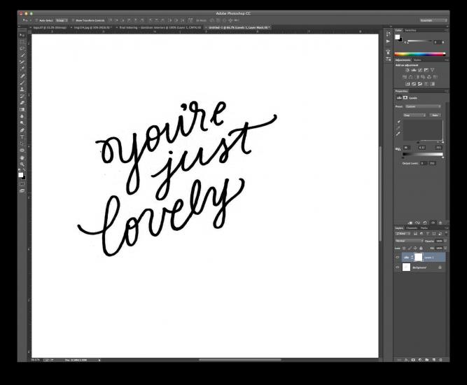 hand lettering tutorial 5