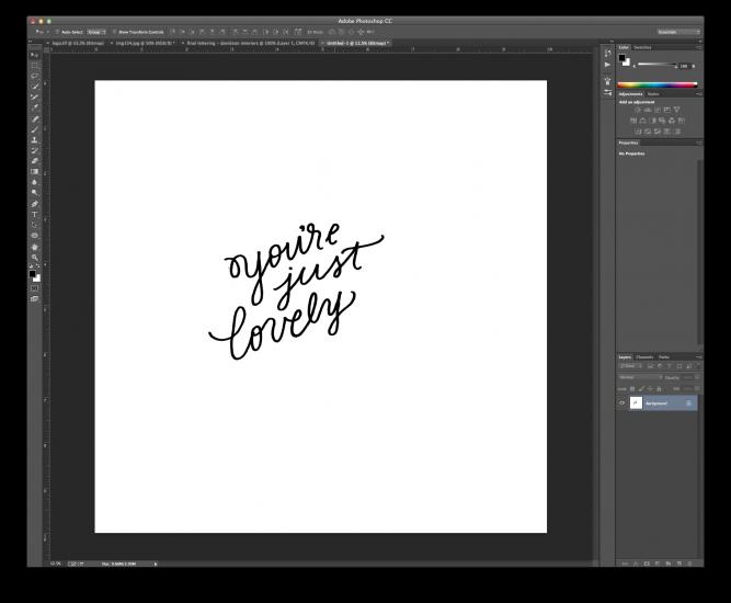 hand lettering tutorial 6