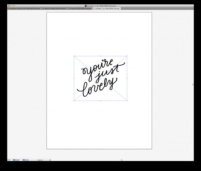 hand lettering tutorial 8