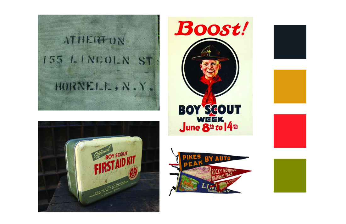 Cantine Bar + Bottle Shop Logo Design Inspiration - Boy Scouts