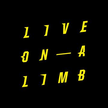 Live on a Limb Rebranding - Sticker Design (front)