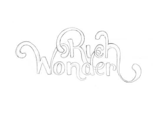 Rich Wonder Logo Design - Sketches 2