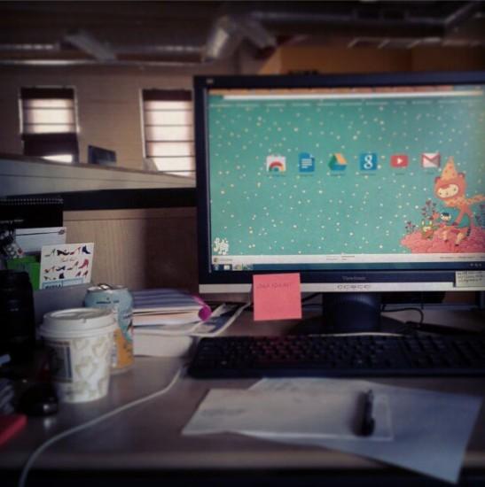 Oh My God My Own Desk
