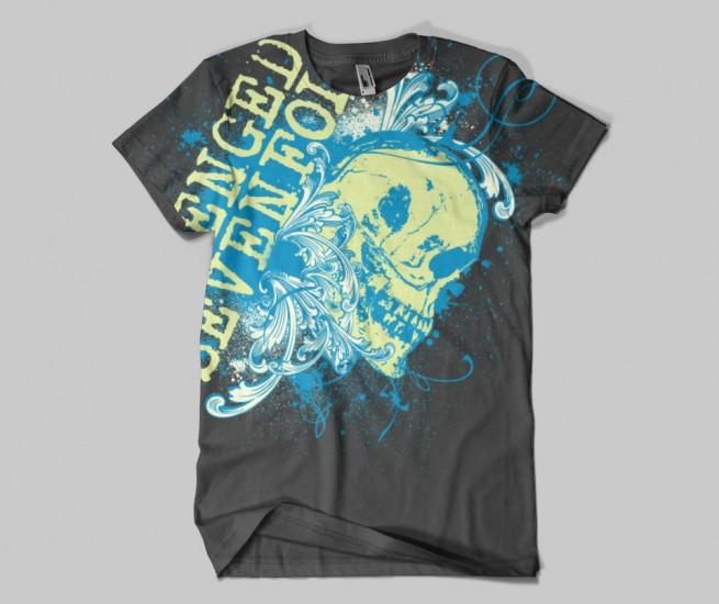 free t-shirt design mockup templates standard t-shirt