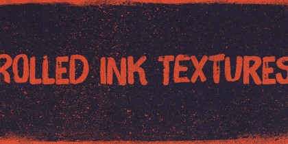 The Shop - Rolled ink texture pack, volume 01 - http://arsenal.gomedia.us/shop/textures/rolled-ink-texture-pack-volume-1/