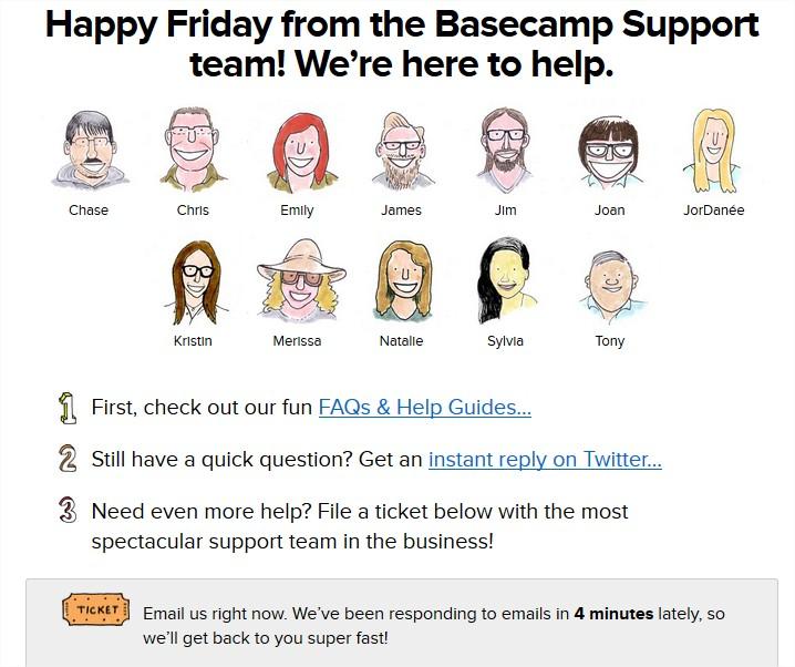 Basecamp vs Podio - Basecamp Support