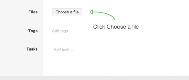 Basecamp vs Podio - Podio Add Files