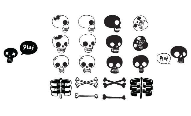 Blake Stevenson Skulls