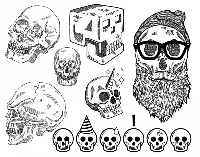 Jordan Wong (Go Media) Skulls