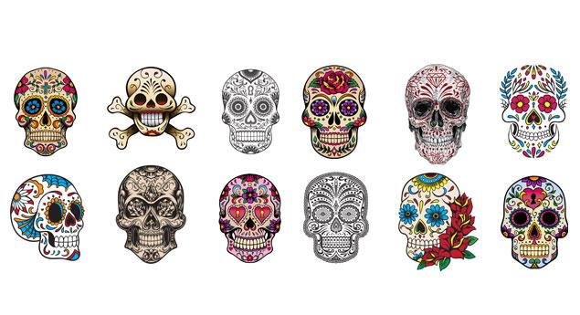 Michael Hinkle Skulls