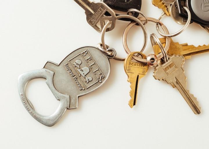 Don't Print Keychain