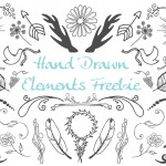 Freebie: Vector Hand Drawn Elements