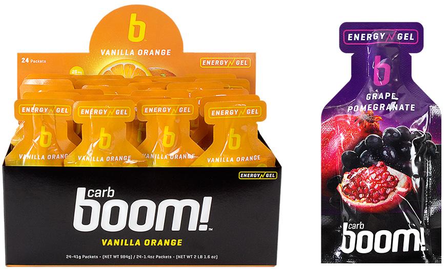 Boom Energy Gel Branding Packaging 2 - Cleveland packaging design by Go Media