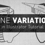 Line Variation in Illustrator   Tutorial