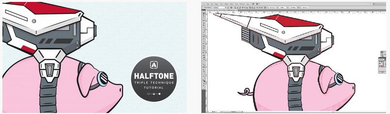 Halftone Triple Technique Tutorial   Go Media™ Arsenal - 3