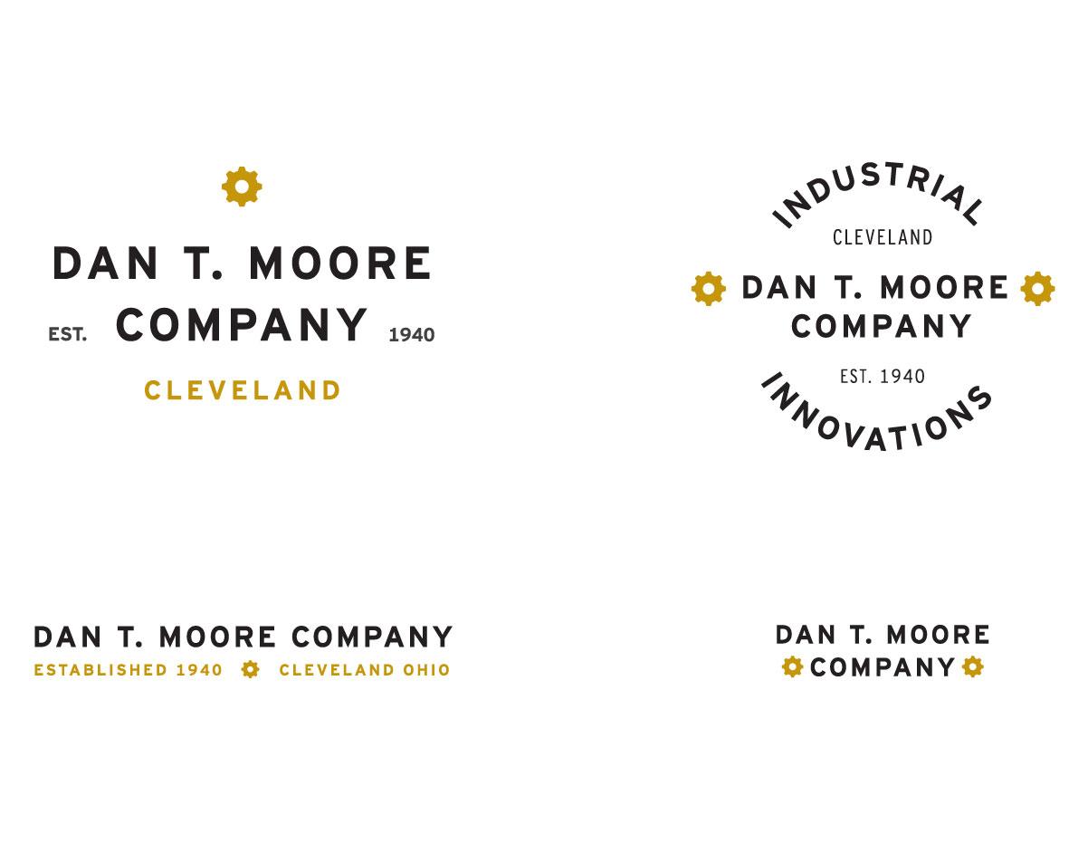 Dan T. Moore Company Logos