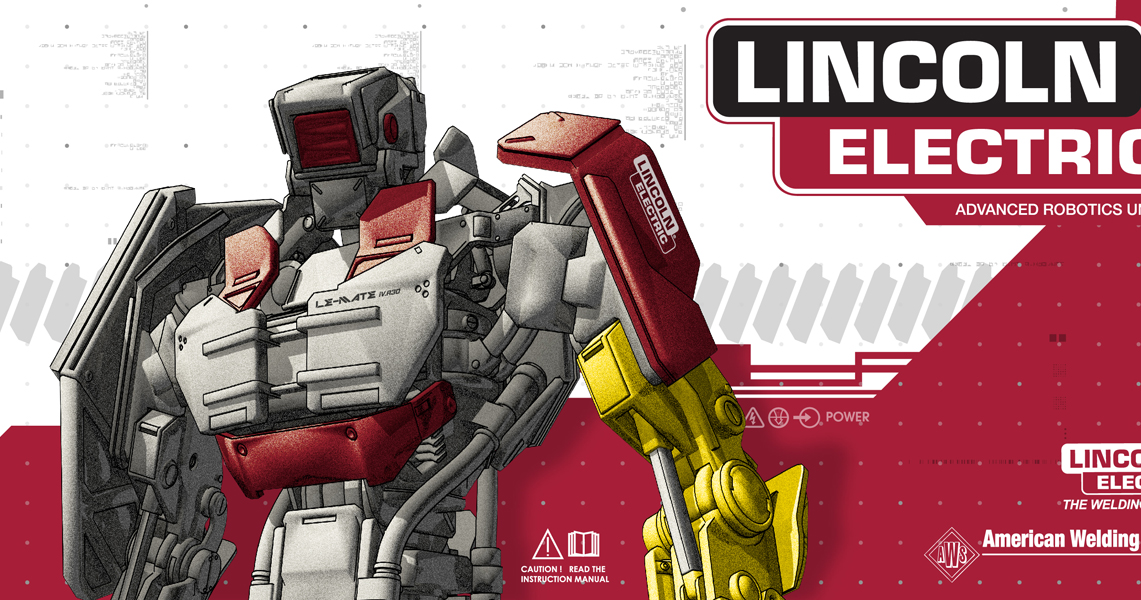Incredibly Fun Project Alert: Lincoln Electric Automated Welding Cell