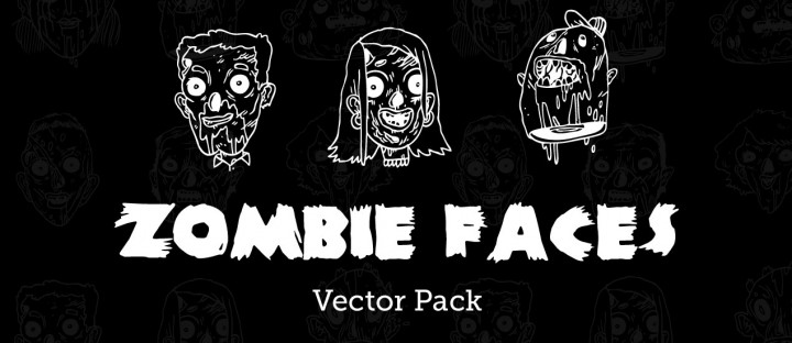 Zombie-Faces-Vector-Pack-Zine-Hero-Image