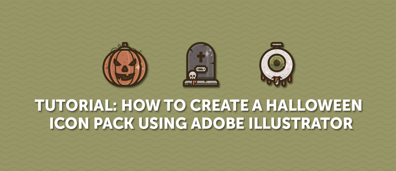 How to create an icon pack using adobe illustrator tutorial how to create a halloween icon pack using adobe illustrator resources included ccuart Image collections