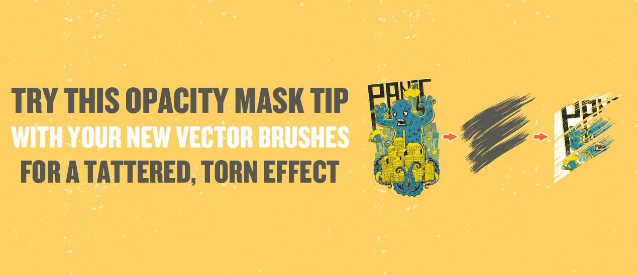 how to use an opacity mask in illustrator