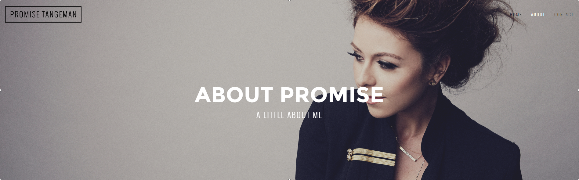 ABOUT — PROMISETANGEMAN