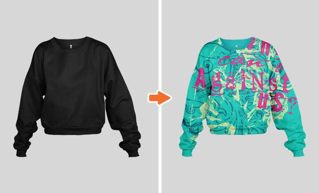 Ladies_Cropped_Sweatshirt_Ghosted_Front_Arsenal_Preview
