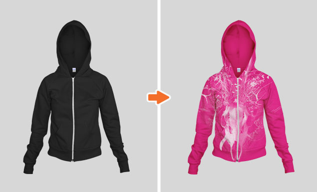 Ladies_Fleece_Zip_Hoodie_Ghosted_Front_View_2_Arsenal_Preview