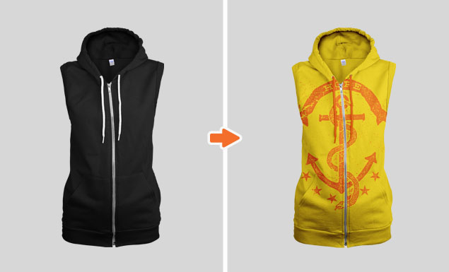 Ladies_Sleeveless_Zip_Hoodie_Ghosted_Front_View_1_Arsenal_Preview
