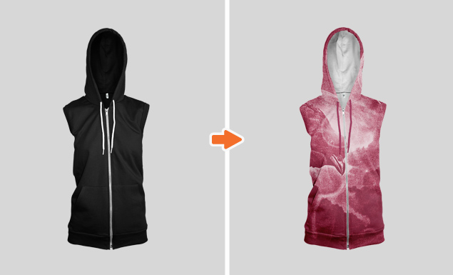 Ladies_Sleeveless_Zip_Hoodie_Ghosted_Front_View_2_Arsenal_Preview