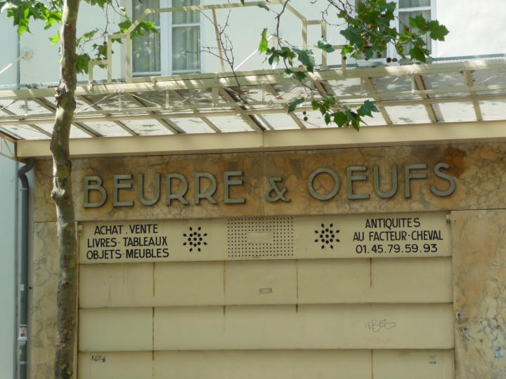 beurre & oeufs