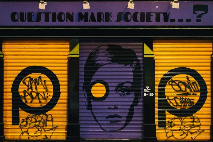 question mark society