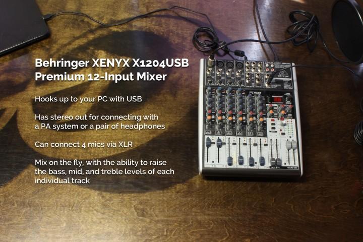 slide-mixer