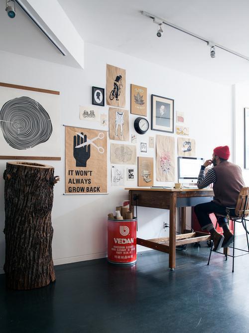 Freelance Workspace Design