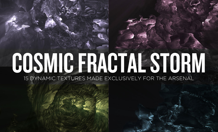 Cosmic Fractal Storm Textures Exploration Tutorial