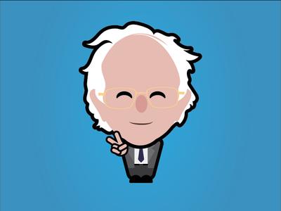 Bernie Sanders by Chris Cherry