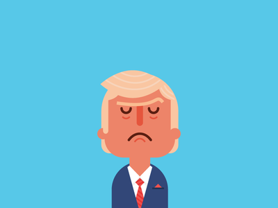 Trump by Jacob Greif on Dribbble
