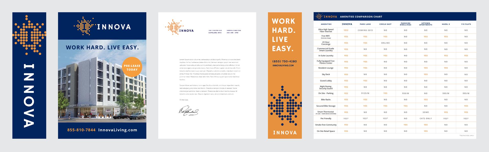 Innova letterhead design