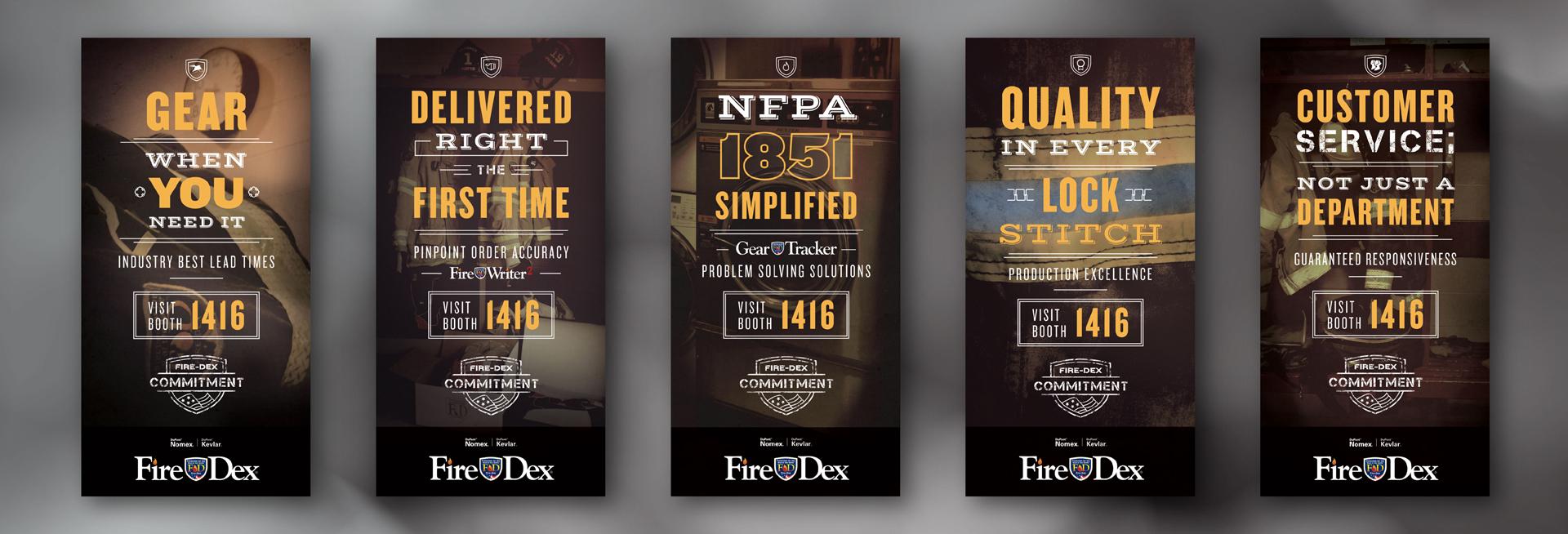 FireDex Graphic Design Posters FDIC 2015