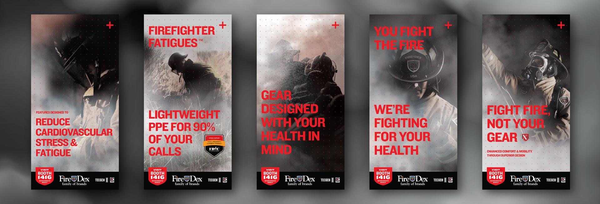 FireDex Graphic Design Posters FDIC 2016