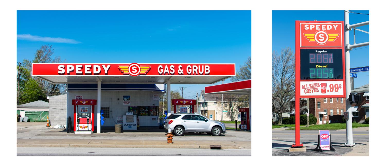 Speedy Gas Branding Real World In Progress